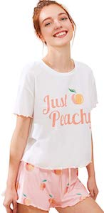 Just Peachy Pajama Set