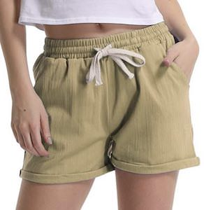 women's Casual Drawstring Shorts