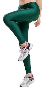 Colored Shiny Leggings
