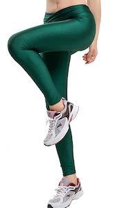 Colored Shiny Leggings