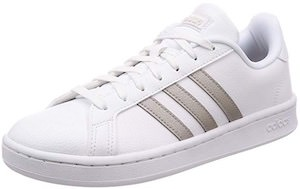 Adidas White Grand Court Sneaker