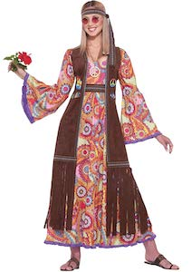 Women's Hippie Love Child Costume