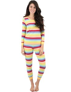 Women's Light Stripes Pajama Set