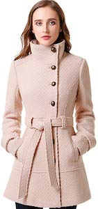 Women's Wool Blush Coat