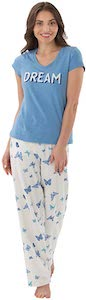 Dreams And Butterflies Pajama Set