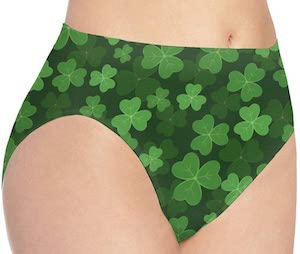 women's Shamrock Panties