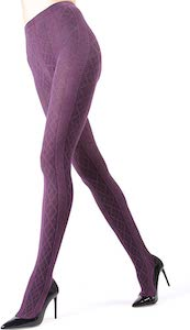 Purple Sweater Tights