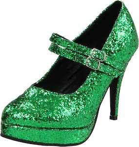 Sparkling Mary Jane Pumps