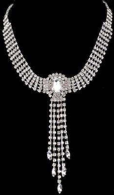 Jewel Drop Necklace