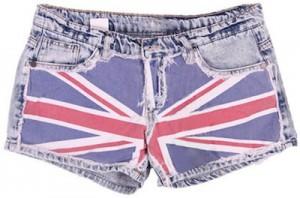 English Flag shorts