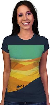 Land Of Nowhere women's T-Shirt