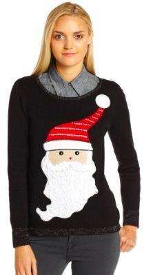 Santa And Sparkles Christmas sweater