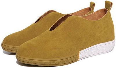 Yellow Flat Shoe
