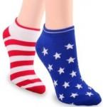 American Flag Socks