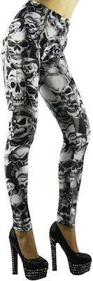 Women's Skull print leggings