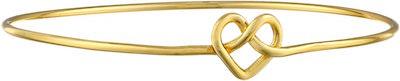 Cross My Heart Bangle Bracelet