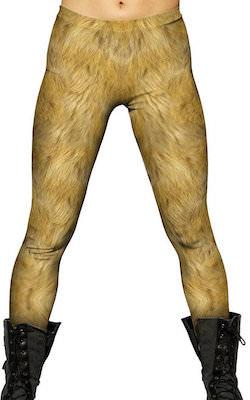 USA made Lion Skin Women's Leggings