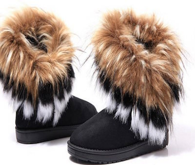 Women S Winter Boots With Faux Fur