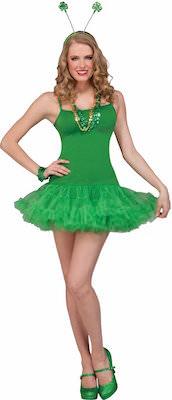 Green St Patrick's Day Costume Dress