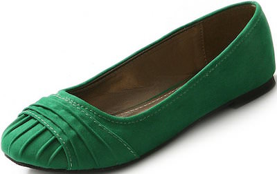 Fold Over Women's Flat Shoes
