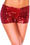 Women's Sparking Sequin Shorts