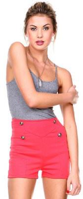 Casual High Waist Women's Shorts