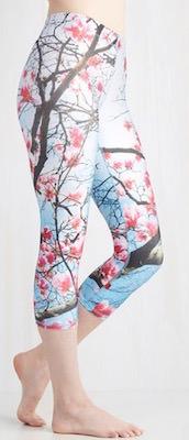 Women's Cherry Blossom Leggings