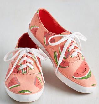 Women's Keds Watermelon Print Sneakers