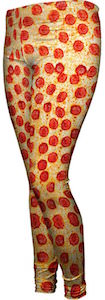 Women's Pepperoni Pizza Leggings