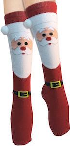 Santa Claus Christmas Socks