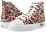 Rainbow Sprinkles Hightop Sneakers