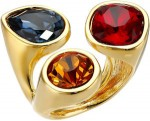 Kenneth Jay Lane Crystal Cluster Ring