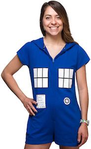 Doctor Who Tardis Romper Costume