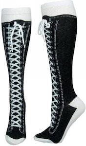 Converse sneaker socks knee high