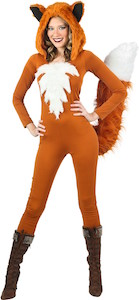 Women's Sexy Fox Costume