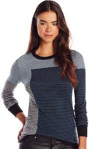 Mixed Striped Women's Sweater