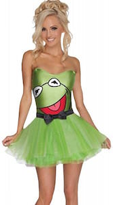 Women's Kermit The Frog Costume Dress