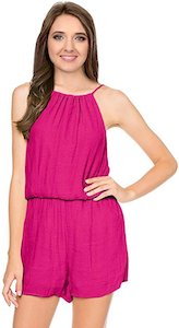 Sleeveless Spaghetti Strap Romper (available in many colors)