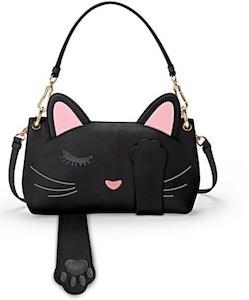 Faux Leather Cat Handbag