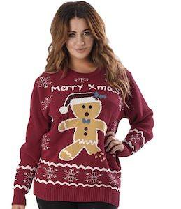 Merry Xmas Gingerbread Man Sweater