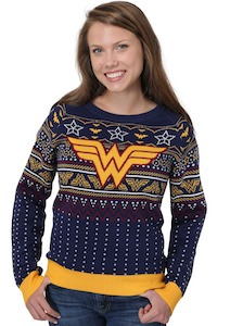 Wonder Woman Holiday Sweater