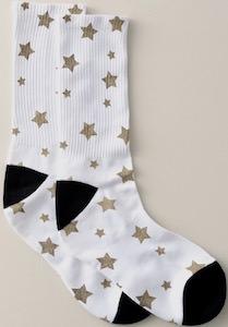 Golden Stars Socks