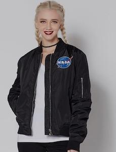 Women's NASA Bomber Jacket
