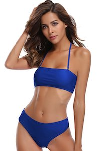 Women's Shekini bandeau bikini set