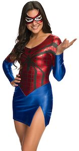 Women's sexy Spider-Man costume