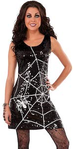 Costume Spiderweb Dress
