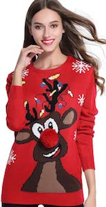 Rudolph The Rednose Reindeer Christmas Sweater