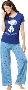 Women's Snoopy Pajama Set