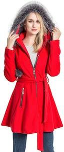 Women's Wool Trench Coat