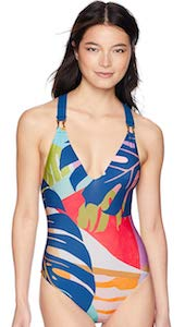Women's Colorful Pattern Swimsuit